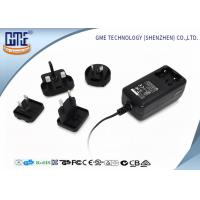 Buy cheap 24 series EU / US / BS / AU Prong Interchangeable 12V 2A Universal Ac Dc switching power Adapter from wholesalers