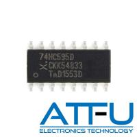 China High Speed Programmable Integrated Circuit 74HC595D For 8 Bit Shift Register / Latch on sale