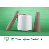Quality Z Twist 100 Percent Pure Polyester Core Spun Yarn For Sewing Virgin Raw White Material wholesale