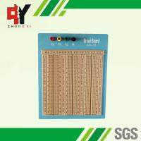 Quality Reusable Big Brown Solderless Breadboard 2420 Points With Blue Plate wholesale