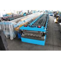 Quality Hydraulic Decoiler Floor Deck Roll Forming Machine 22KW 26 Stations wholesale