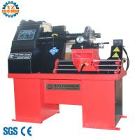 China WS26 Rim Straightening Machine With Lathe for alloy mag wheel with electric hydraulic on sale