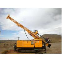 Buy cheap RC300 full hydraulic top drive crawler drilling rig Borehole depth 300 m from wholesalers