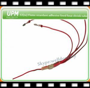 China S3(ta) Flame Retardant Thin Wall Heat Shrink Tube on sale