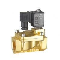 Quality Brass Two Inch Electric Latching Solenoid Valve Water 0.3 ~7 Bar G Thread / NPT Thread wholesale