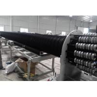 China Large Diameter Hollow Wall Winding Hdpe Pipe Extrusion Machine Production Line  on sale