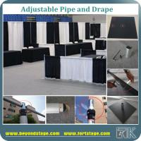Cheap Pipe And Drape Trade Show Booth For Exhibit Events