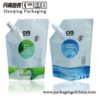 China High Barrier Detergent Stand Up Pouch With Spout For Hand Soap Packaging on sale