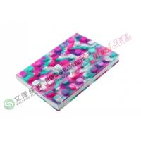 China Mixed Color Eco-friendly Non-slip Silicone Book Cover with Phosphor Powder on sale