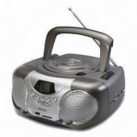 China Boombox MP3 and CD Player with AM/FM Two Band Radio on sale
