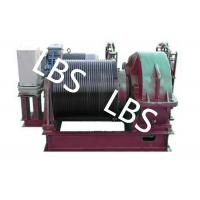 Quality Electric Winding Hoist Wrie Rope Electric Marine Winch Lifting Capacity 10T , 30T wholesale