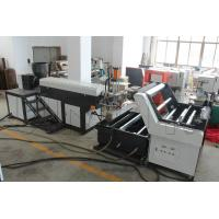 Quality Horizontal Type Plastic Rope Making Machine 65mm / 85mm / 95mm Screw Diameter wholesale