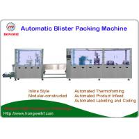 Quality Toothbrush Automatic Blister Packing Machine New Condition Servo Motor Driven wholesale
