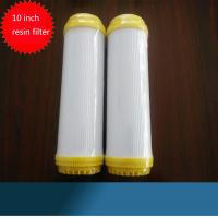China 10 Resin Water Filter Cartridge Ion Exchange Water Softner Resin Filter Cartridge on sale