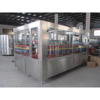 Buy cheap PET Bottle Juice Filling Machinery 6.5Kw Auto Liquid Filling Machine product
