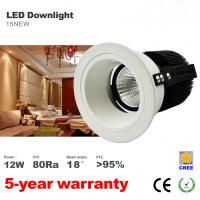 Cheap 10W 12W LED Downlight Recessed Ceiling light ...