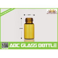 Cheap Factory Sale 2ml Amber Tubular Glass Vial Oil Use for sale