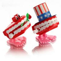 Quality Dental Tooth Dentist gift Plastic Tooth Clockwork toys wholesale