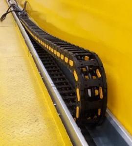 Quality Flexible Crane Components Plastic Energy Drag Cable Chain For Festoon System wholesale