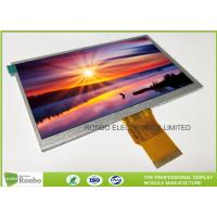 """Quality 7.0"""" RGB Interface Lcd Display 800 X 480 , Wide View High Brightness LCD Module wholesale"""