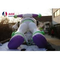 Cheap Toy Story Giant Inflatable Carton Buzz Lightyear , Inflatable modle CE / SGS for sale
