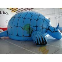 China Funny Inflatable Pool Turtle , Amusement Park Giant Inflatable Animals on sale
