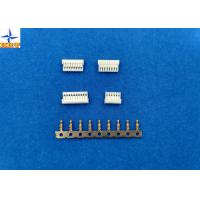 Quality 1A AC / DC PCB Wire Connectors , Wire To Board Connector Pitch 1.0mm With PA66 wholesale