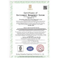 Changzhou Melic Decoration Material Co.,Ltd Certifications