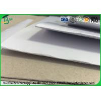 China Recycled Pulp C1S Coated Duplex Board Grey Back 23 * 36 For Clothing Tag on sale