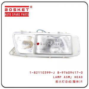 China Head Lamp Assembly For Isuzu CYZ CYH 1-82110399-J 8-97609417-0 182110399J 8976094170 on sale