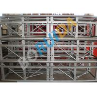 Quality 3.0m x 1.3m x 2.5m Blue 36m/min Single Cage Goods Building Site Hoist without VFD wholesale