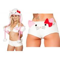 Quality Kitty Fluff Cat Sexy Women Halloween Costumes , Cosplay Suit Adult Fancy Dress wholesale