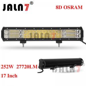 Quality 252W 27720LM OSRAM 17 INCH 8D LED LIGHT BAR JALN7 wholesale