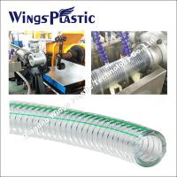 China Steel Wire Reinforced PVC Hose Making Machine, PVC Spring Hose Production Line on sale