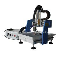 Quality Desktop 360*360mm Mini CNC Metal Carving Machine with DSP Control wholesale