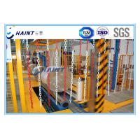 China Paper Roll Stretch Film Wrapping Machine 30 - 80 Rolls / Hour Ce Approved on sale