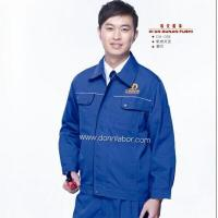 China Best-selling Industrial Protective Clothing Coverall Work Miner Uniform on sale