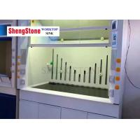 Quality Fume Hood Accessories Chemistry Lab Countertops 19 Mm Thickness Black Color wholesale