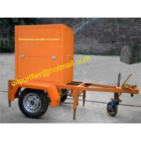Quality Single stage Vacuum Transformer Oil Purifier with mobile trailer,cable oil treatment plant,mobile oil filtration machine wholesale