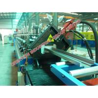 Metal Door Frame Profile Jamb Section Panel Manufacturing Machine for Rolling Galvanized Steel Coils