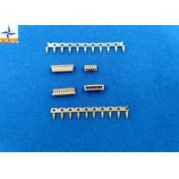 Quality 1.25mm Pitch Miniature Crimping Connector UL-listed Grey Color Lvds Display Connector wholesale