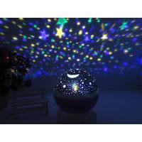 Buy cheap Super Bright Decorative Led Night Lights Romantic Cosmos Star Sky Moon Lamp Projector from wholesalers