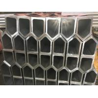 Quality 6061 T6 Polygon Tube Aluminium Frame Profile , Aluminum Extruded Shapes For Industrial Material wholesale
