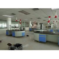 Buy cheap Steel / Wood Frame School Lab Furniture Workbench Equipment With Silent Sliding from wholesalers