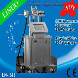 Quality 50K Ultrasonic Cavitation Machine, Vacuum RF Ultrasonic Machine, Cavitation RF Weight Loss Machine wholesale