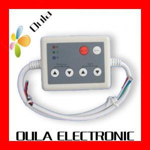 Quality 6 Key Plastic IR LED Lighting Controllers For Strip Light Adjust Brightness wholesale