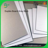 China 230gsm 250gsm 300gsm 400gsm 450gsm carton duplex board gray back on sale