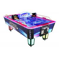 China Fantasy Air Hockey table / Indoor Sports Arcade Electronic Desktop Coin Operated Hockey Game machine For Mall on sale