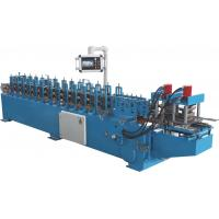 Quality PLC Automatic Control Door Frame Roll Forming Machine With Hydraulic Cutter wholesale