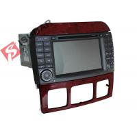 Quality Double Din Mercedes In Car Dvd Players , In Dash Gps Car Stereo With Navigation wholesale